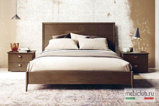 Современная итальянская спальня Teti в цвете frassino cotto San ...