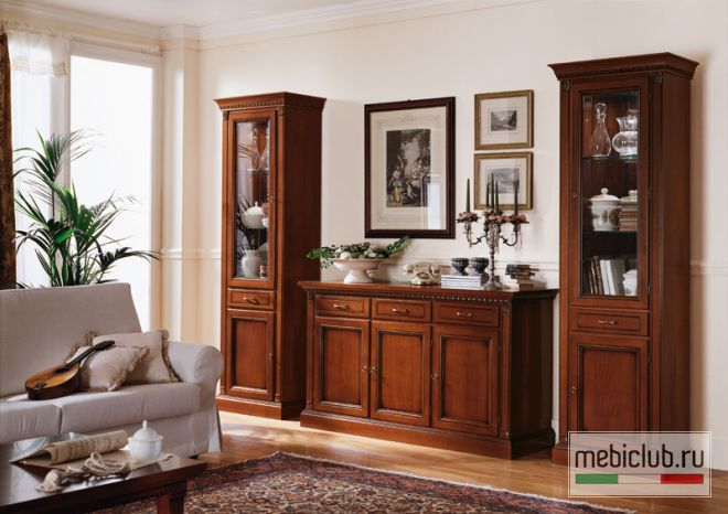 классическая мебель гостиные италия